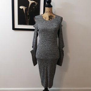 NEW! Bar III Cold Shoulder Sweater Dress